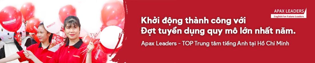 Chương trình tuyển dụng Apax Leader